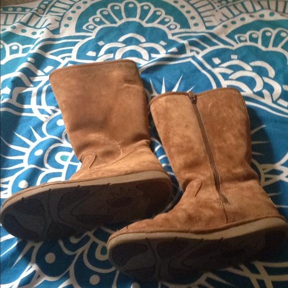 055415d82d8 UGG Shoes | 5683 Suede Sheepskin Tall Boots 7 Us 55 Uk | Poshmark